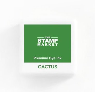 The Stamp Market Ink Cube-Cactus