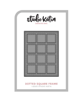 Studio Katia-Dotted Square Frame Die