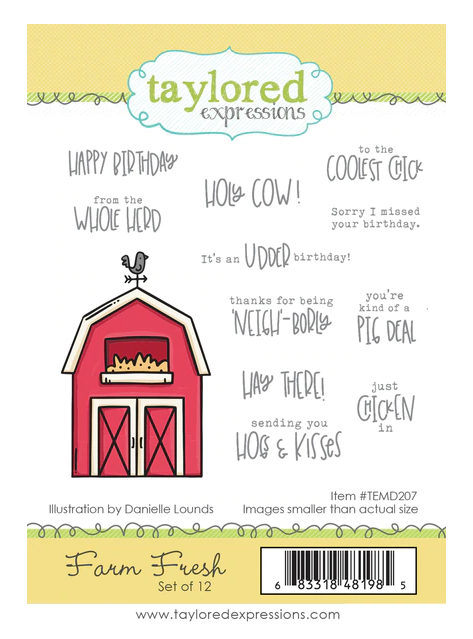 Taylored Expressions-Farm Fresh Stamp