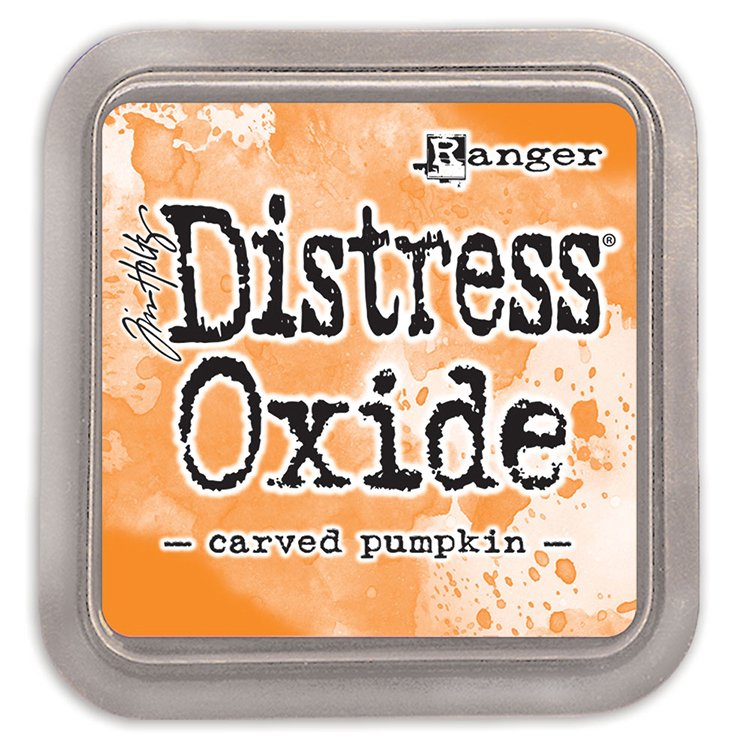 Tim Holtz Distress Oxide Ink-Carved Pumpkin