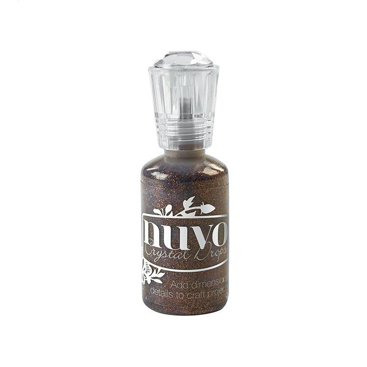 Nuvo Glitter Drops-Chocolate Fondue