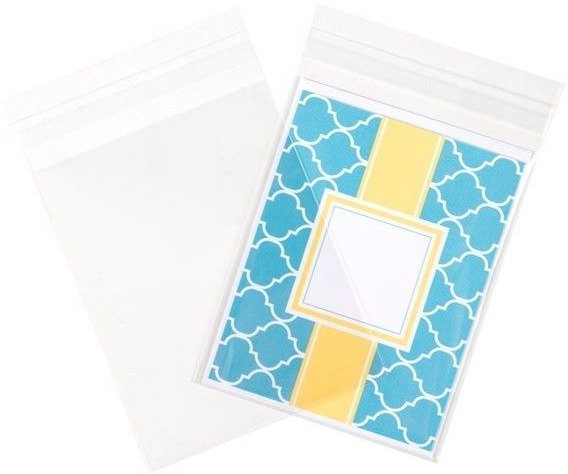 Crystal Clear Flap Seal Bags A2 100 pk