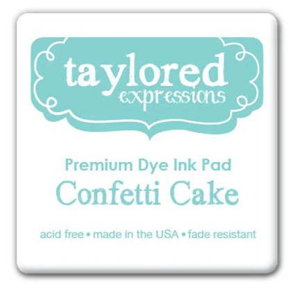 Taylored Expressions Ink Cube-Confetti Cake
