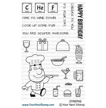 Your Next Stamp-Cook Up Some Fun Stamp