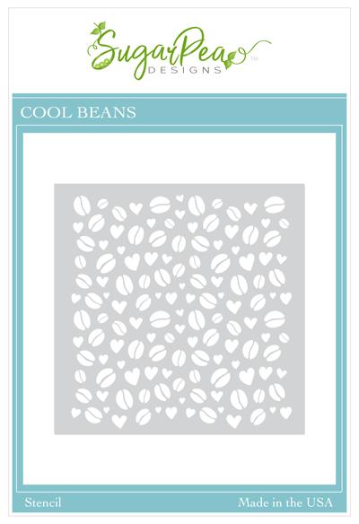 Sugarpea Designs Stencil-Cool Beans