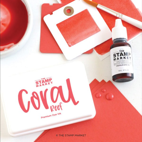 The Stamp Market Ink-Coral Reef