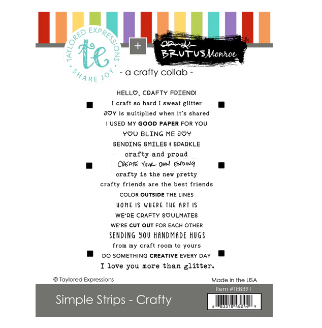 Taylored Expressions-Simple Strips Crafty
