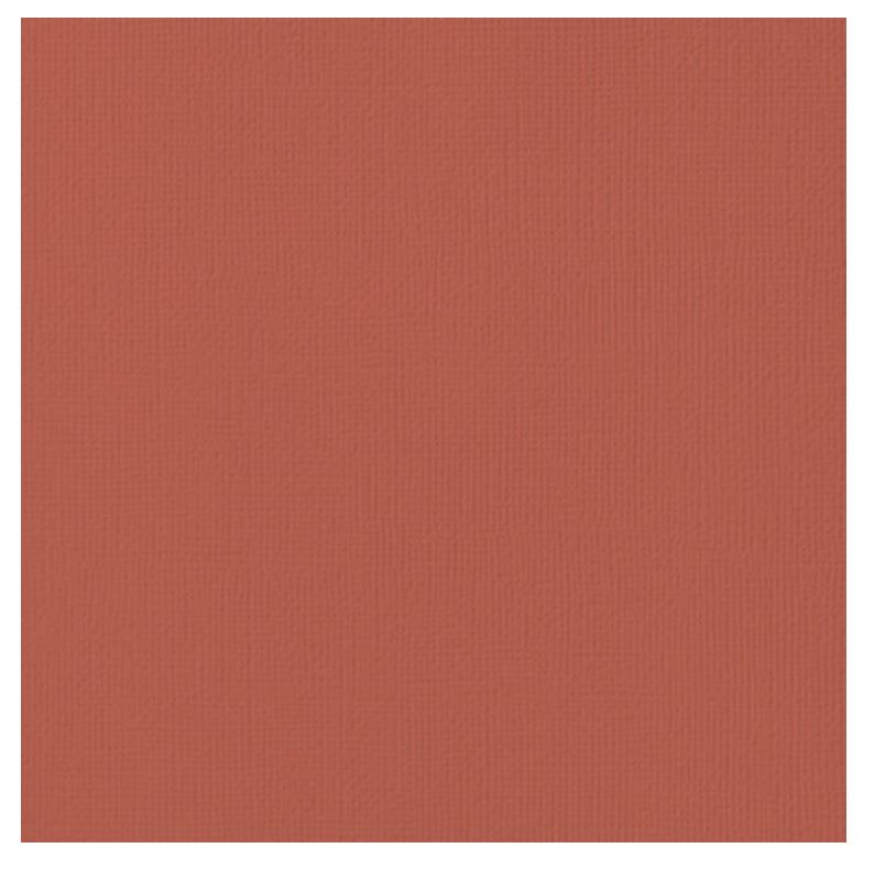 12x12 Textured Cardstock-Cranberry