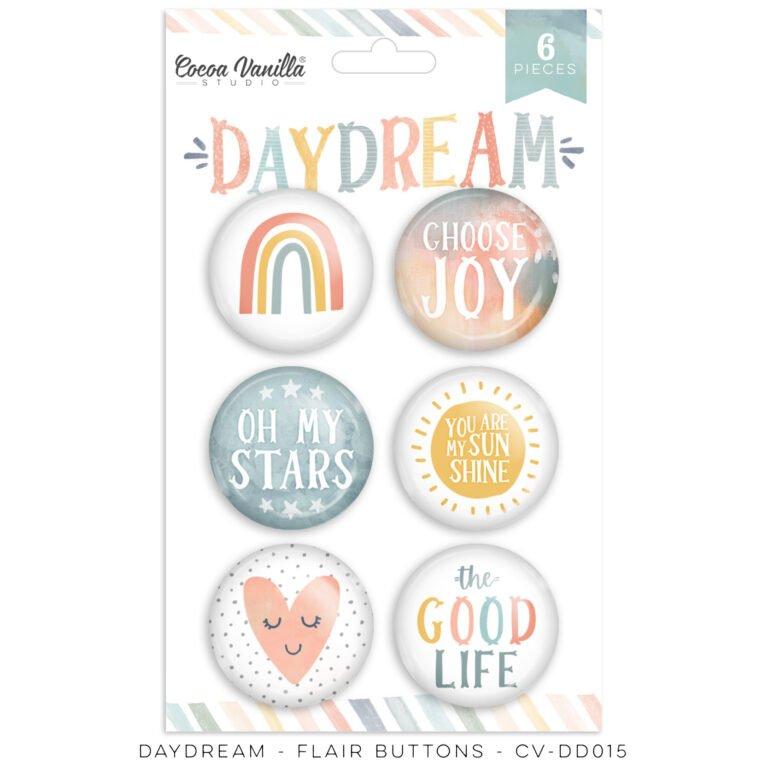Daydream Flair Buttons
