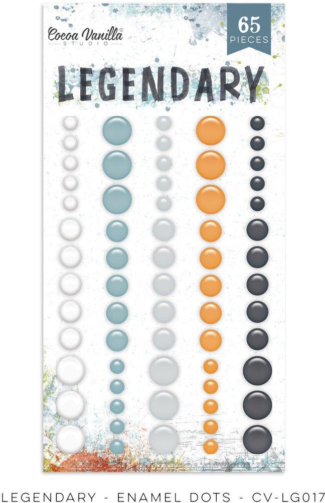 Legendary Enamel Dots
