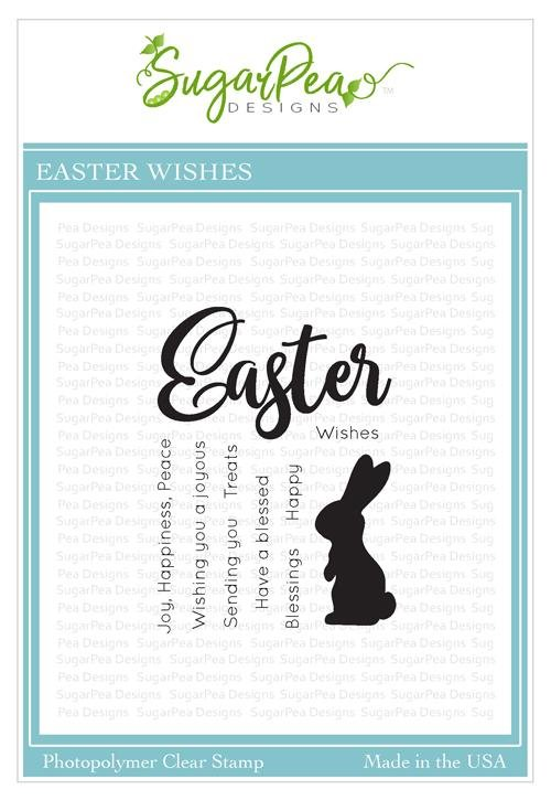 SugarPea Designs-Easter Wishes Stamp