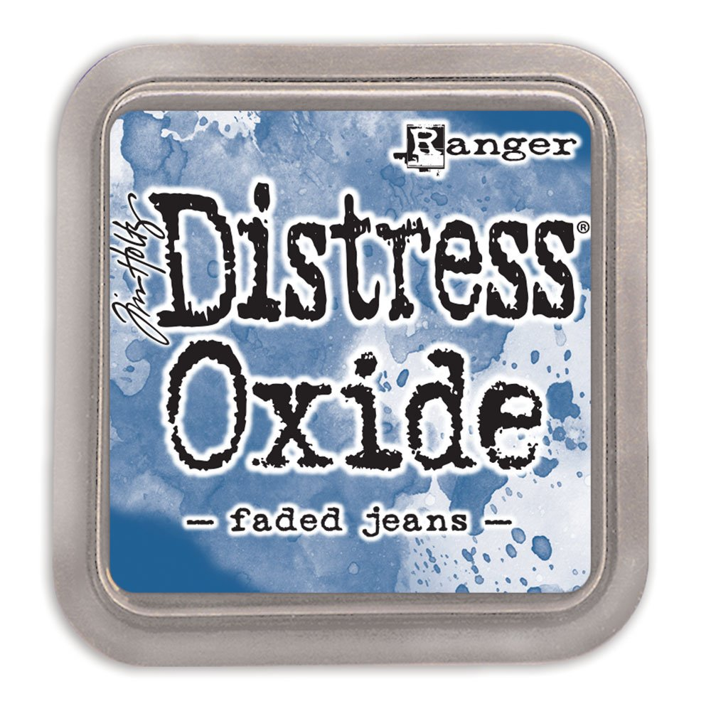 Tim Holtz Distress Oxide Ink-Faded Jeans