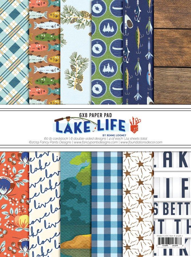 Lake Life 6x8 Paper Pad