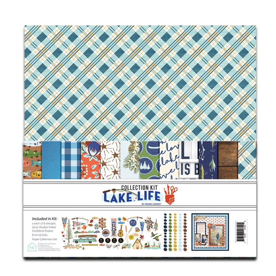 Lake Life 12x12 Collection Pack