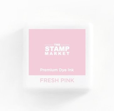 The Stamp Market Ink Cube-Fresh Pink