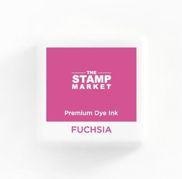 The Stamp Market Ink Cube-Fuschia