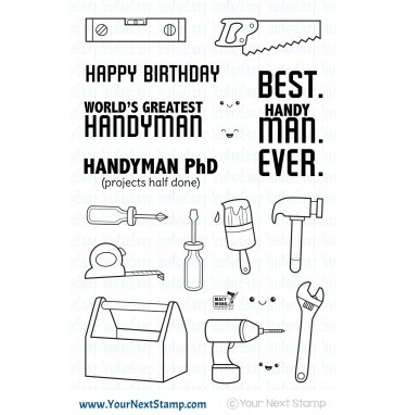 Your Next Stamp-Handy Man Stamp & Die Bundle