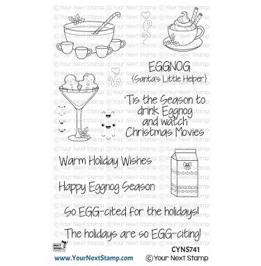 Your Next Stamp-Happy Eggnog Season Stamp