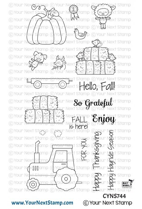 Your Next Stamp-Happy Hayrides Stamp