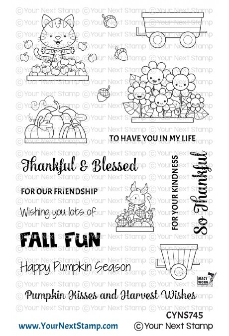 Your Next Stamp-Happy Hayrides Fall Fun Stamp