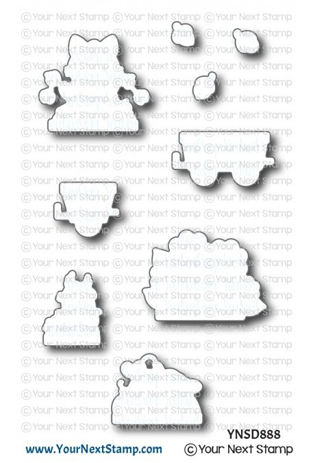 Your Next Stamp-Happy Hayrides Fall Fun Die