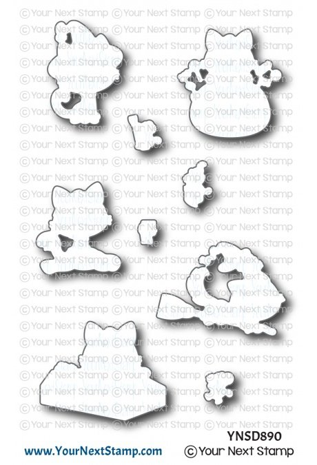 Your Next Stamp-Happy Meowoeen Die