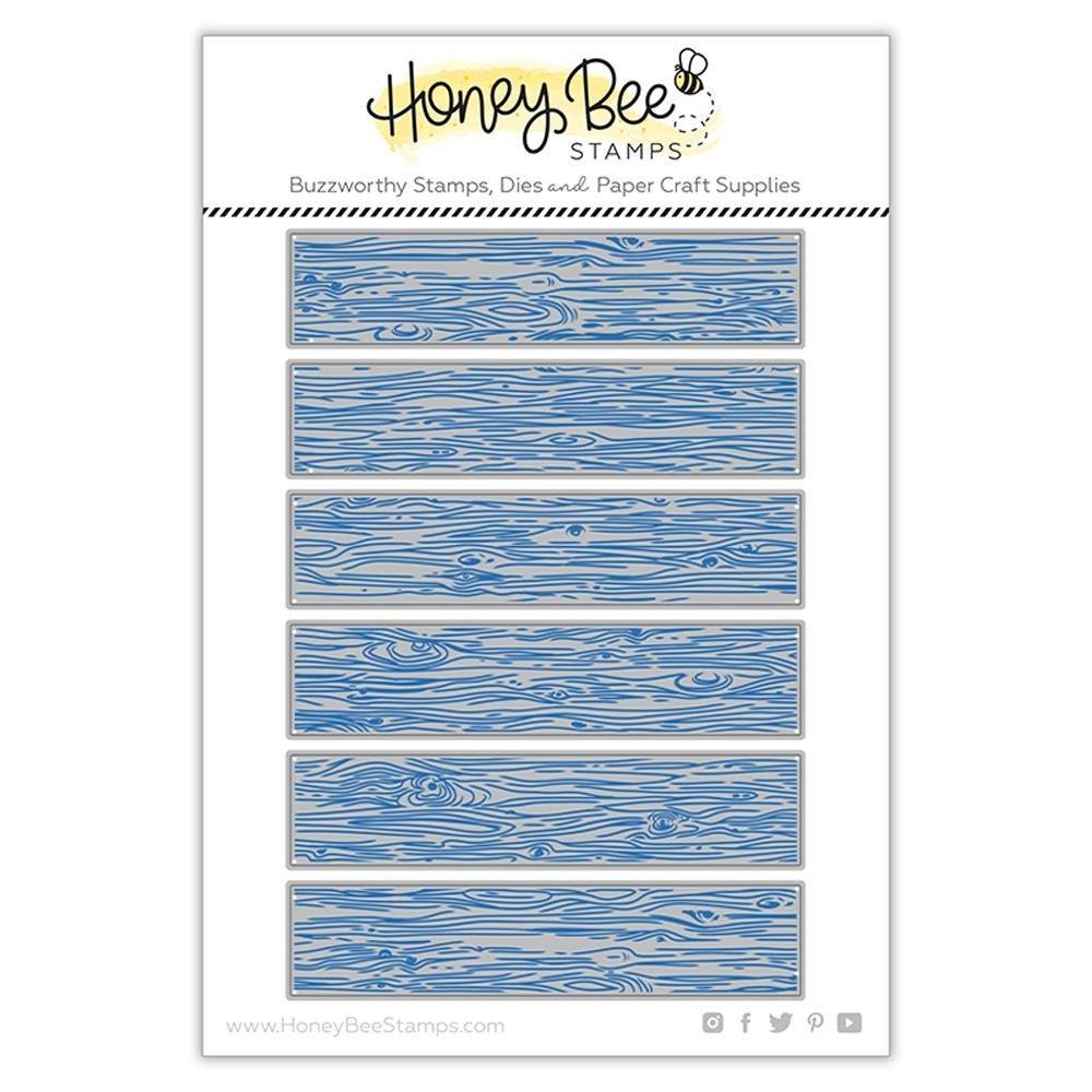 Honey Bee Stamps-Barn Wood Planks Die