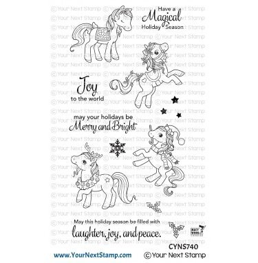 Your Next Stamp-Holiday Ponies Stamp