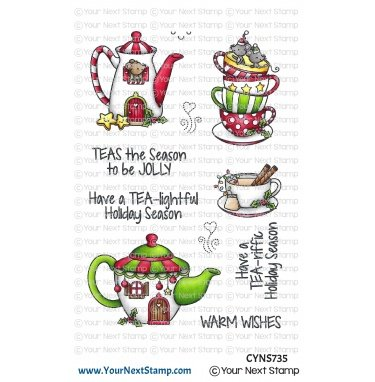 Your Next Stamp-Holiday Tea Stamp