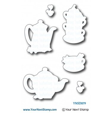 Your Next Stamp-Holiday Tea Die