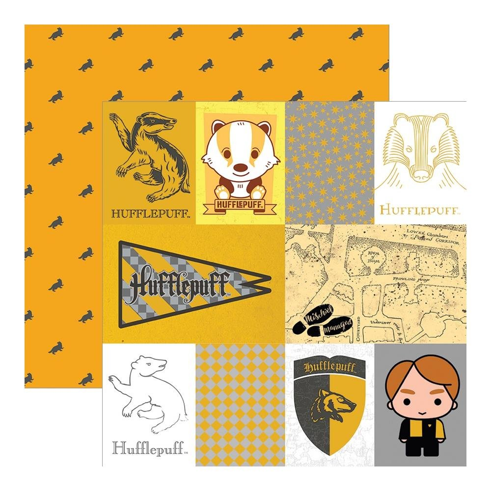 Harry Potter-Hufflepuff (Foil Accents)