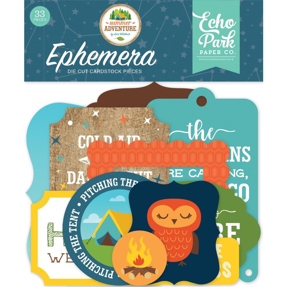 Summer Adventure Ephemera-Icons