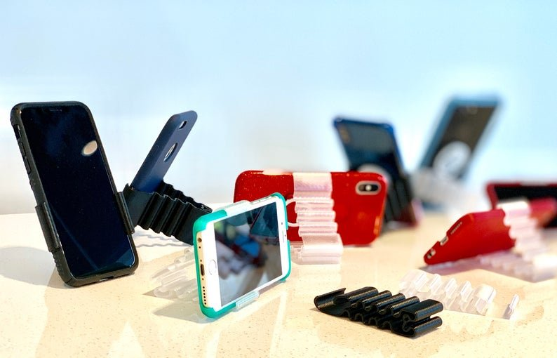 Make It By Marko Phone Stand Clip-Clear