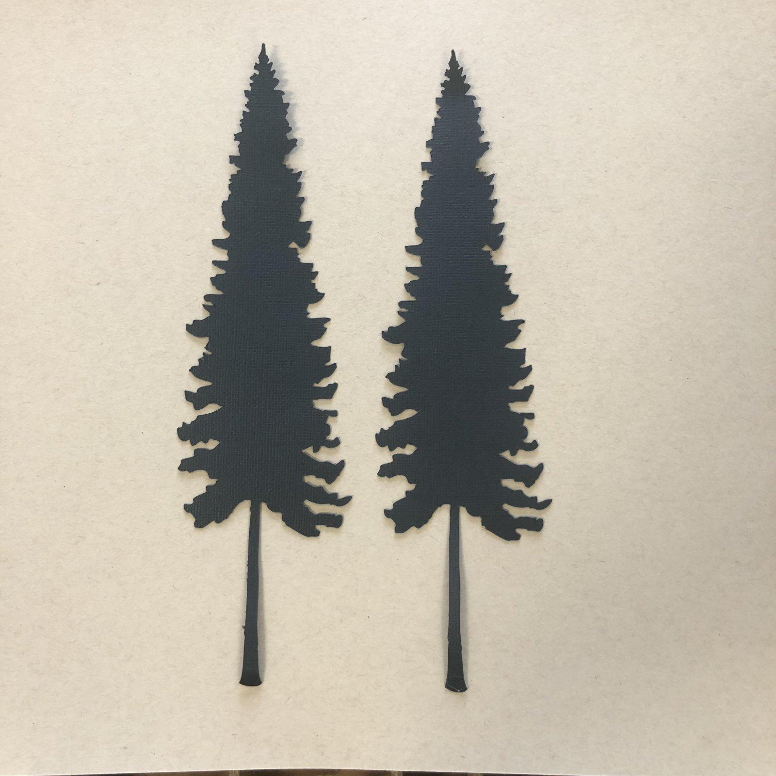 Custom Die-Cut-Trees