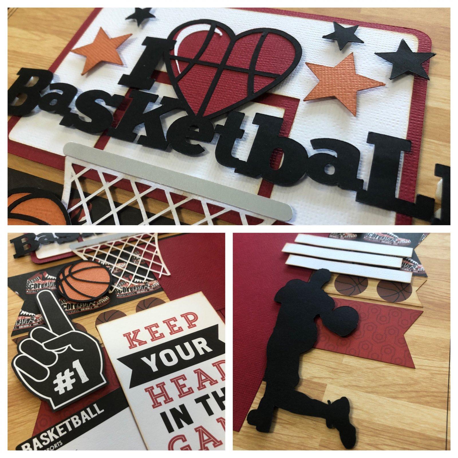 I Love Basketball Kit