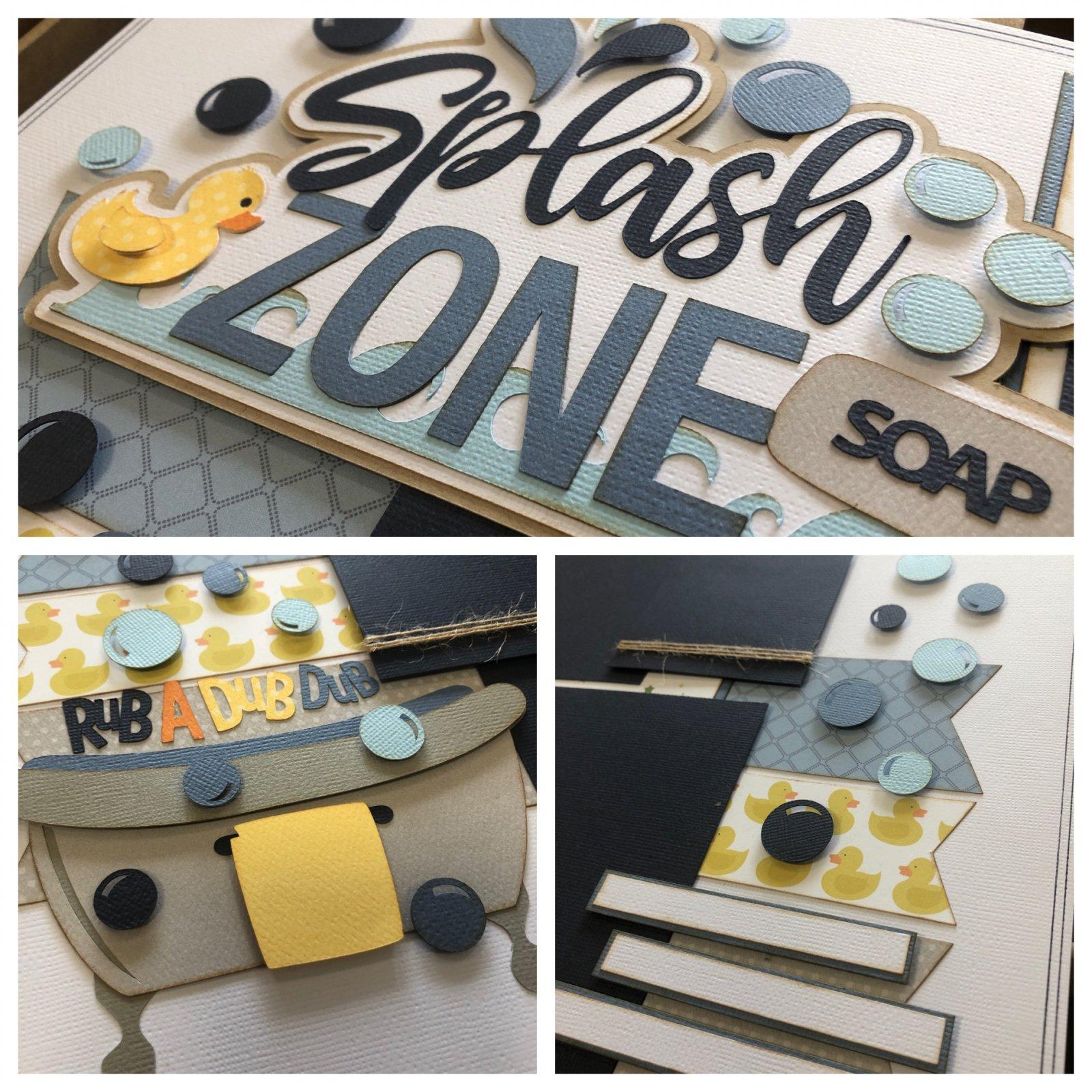 Splash Zone (bath) Kit