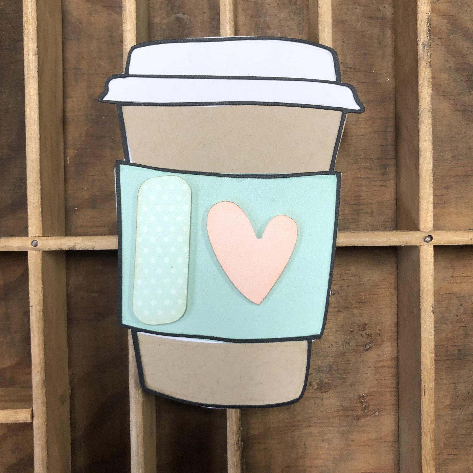 Custom Die-Cut-Coffee Cup