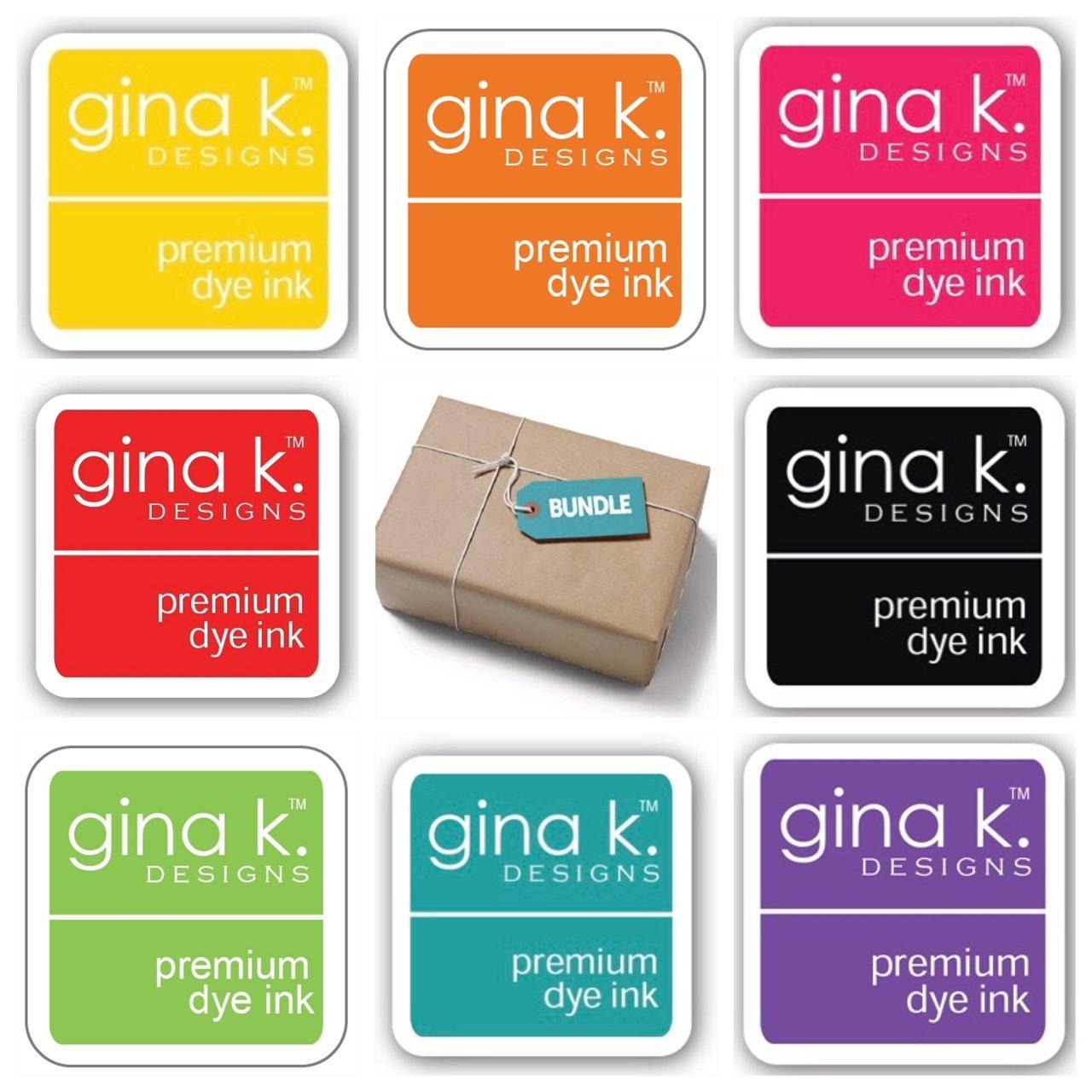 Gina K. Designs Crop & Create Ink Cube Bundle
