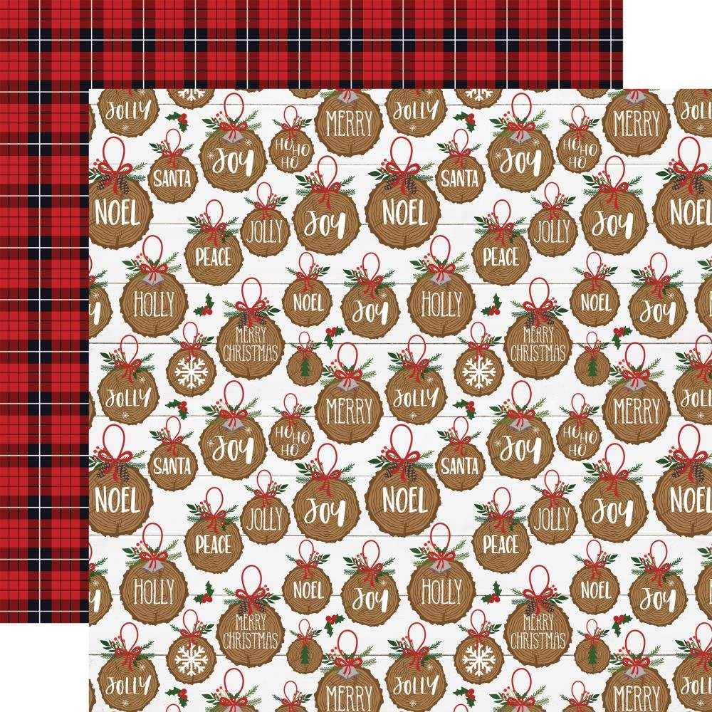 A Lumberjack Christmas-Jolly Ornaments