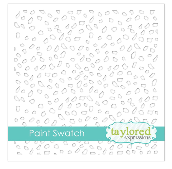 Taylored Expressions Stencil-Paint Swatch