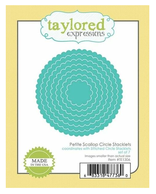 Taylored Expressions-Petite Scallop Circle Stacklets