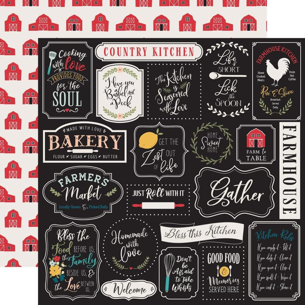 Farmhouse Kitchen-Kitchen Rules