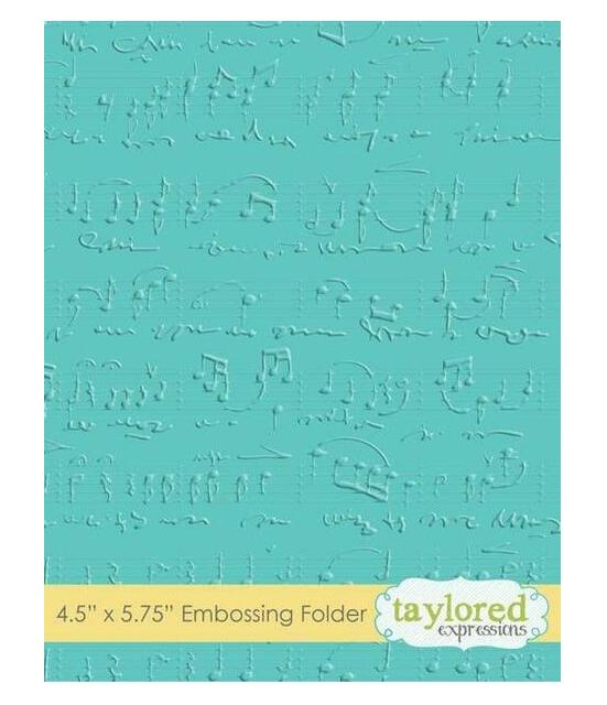 Taylored Expressions Embossing Folder-Herringbone