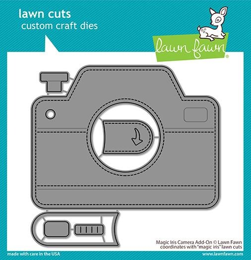 Lawn Fawn-Magic Iris Camera Add-On Die