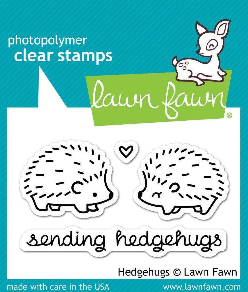 Lawn Fawn-Hedgehugs Stamp & Die Bundle