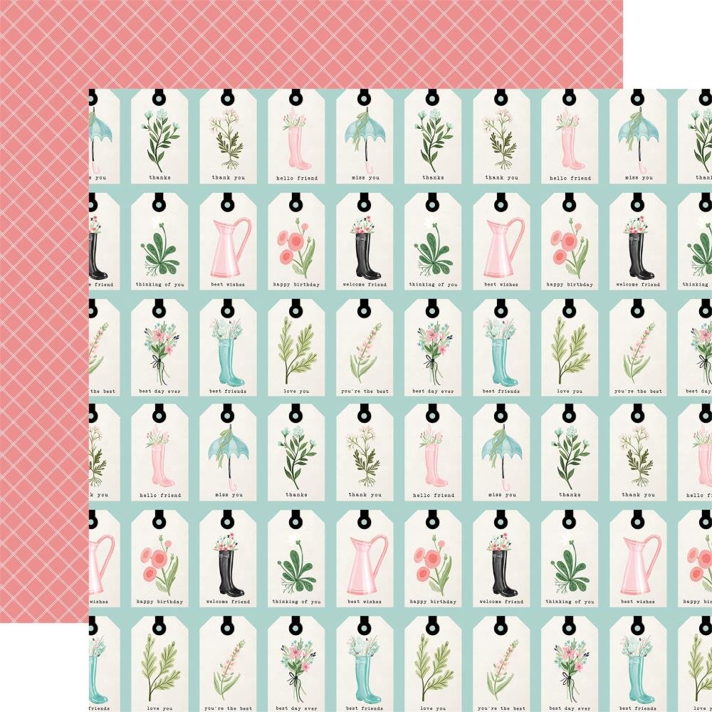 Flower Garden-Love You Tags