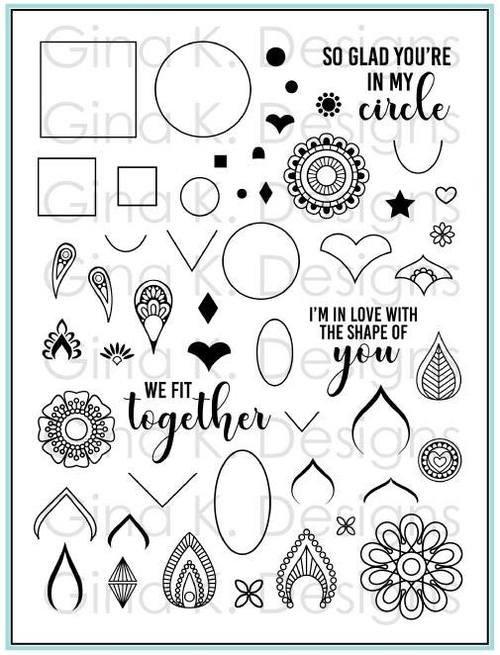 Gina K. Designs-Rina Krupsky Mandala Maker Stamp