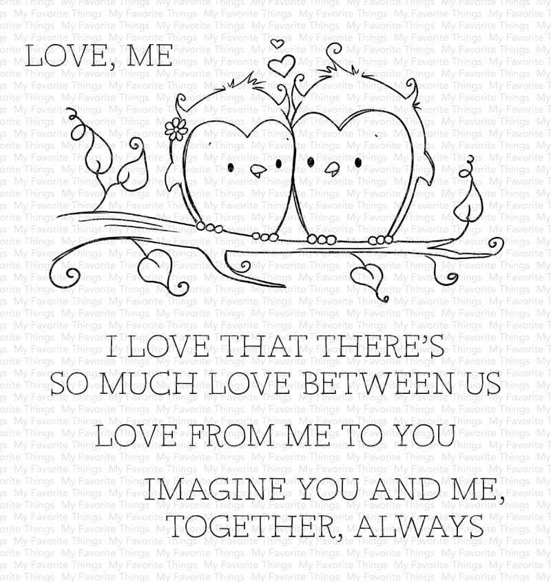 My Favorite Things-You And Me Together Stamp