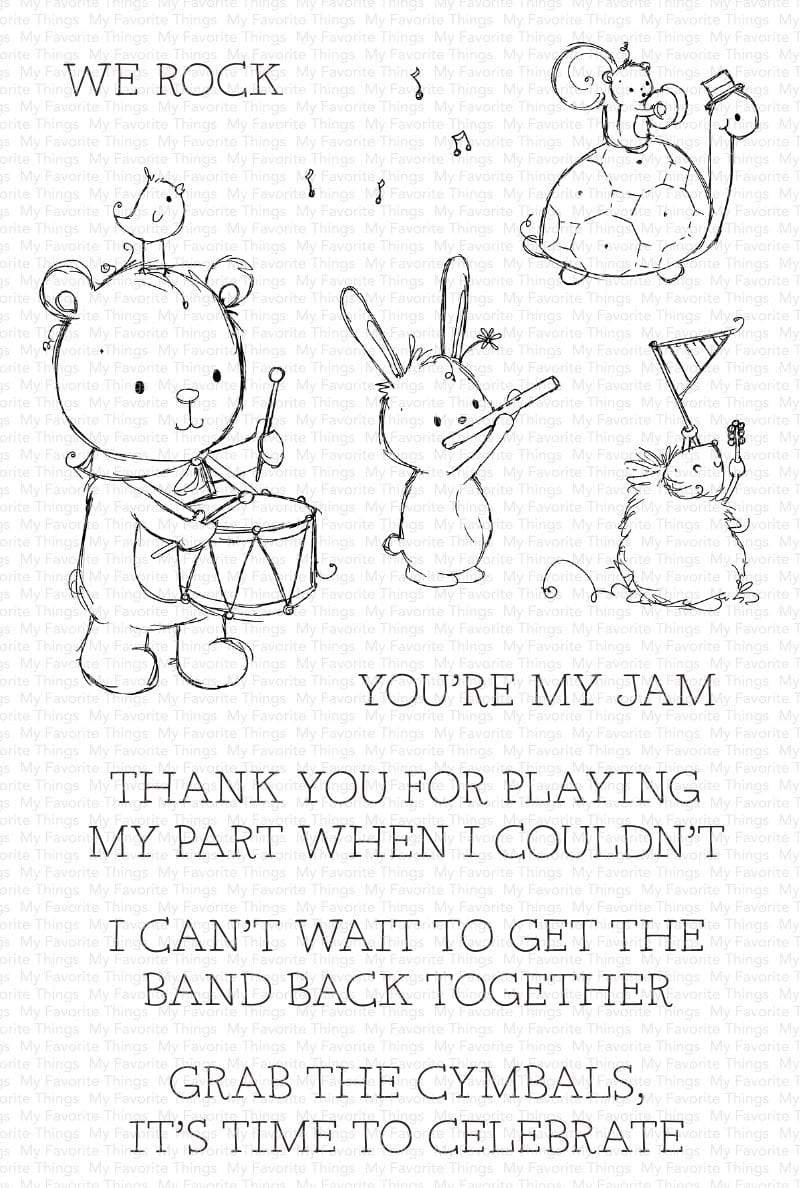 My Favorite Things-You're My Jam Stamp