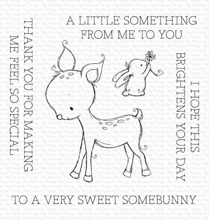 My Favorite Things-A Very Sweet Somebunny Stamp & Die Bundle